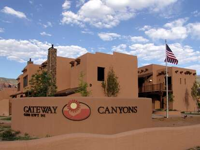 Gateway Canyons front