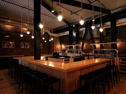The interior at Mikkeller Bar