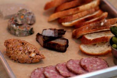 Sausage Plate at Mikkeller Bar