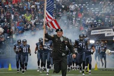 Seahawks Game -- Seattle
