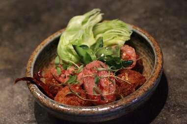 Sausage Fried Rice at Khe-Yo