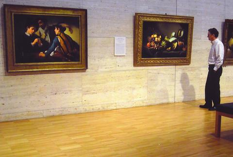 Art on display at the Kimball Art Museum