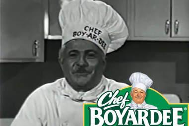 Chef Boyardee real life