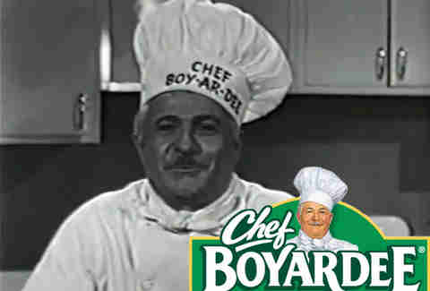 Chef Boyardee real life