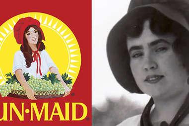 Sun Maid girl real life