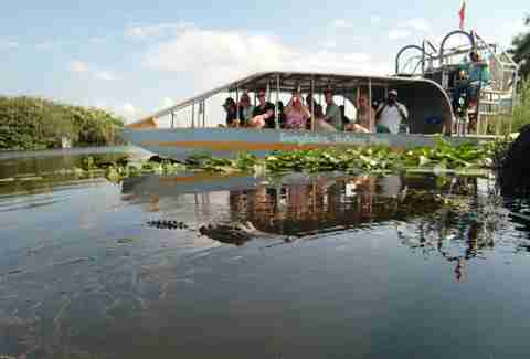 Everglades Holiday Park Airboat