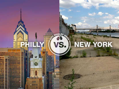 Philly vs. New York