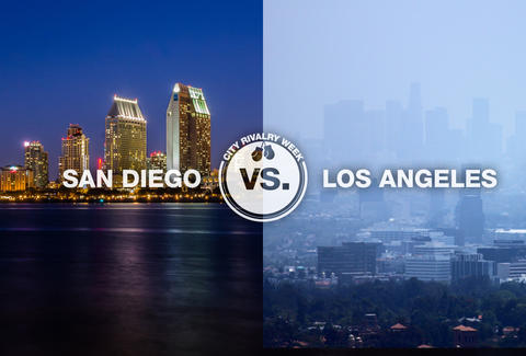 San Diego vs. Los Angeles
