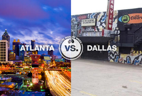 atlanta vs dallas city rivalry