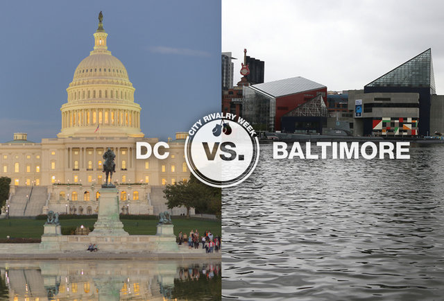10 reasons DC is OH SO MUCH BETTER than Baltimore