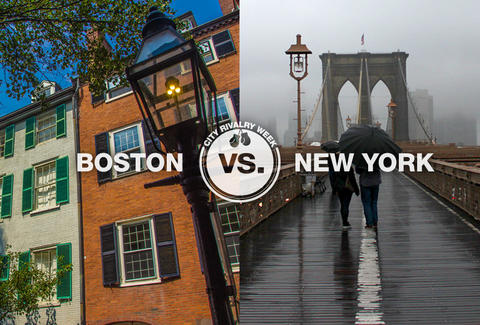 Image result for Boston vs. New York