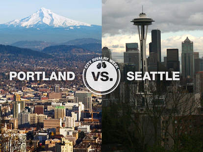 portland vs seattle thrillist city rivalry week