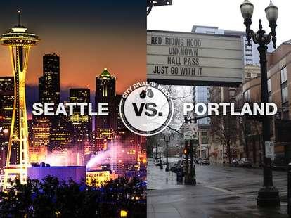 Seattle vs. Portland