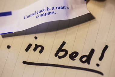 conscious is a man's compass