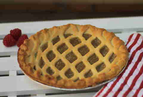tarte au sucre Mr. Pinchot maple pie