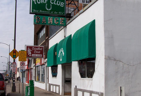 Turf Club entrance