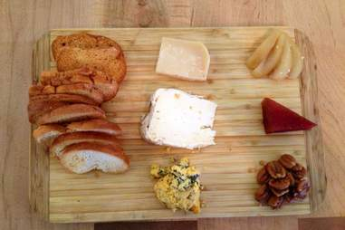 Cheese and bread board