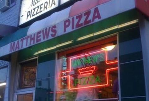 matthews pizza baltimore