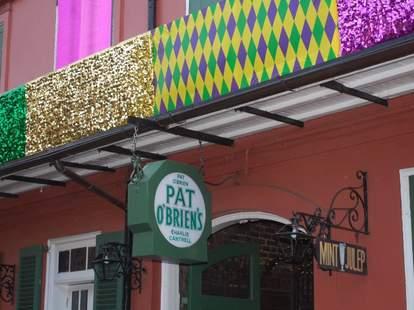 Exterior of Pat O'Brien's Bar
