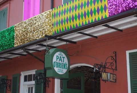 Exterior of Pat O'Brien's Bar