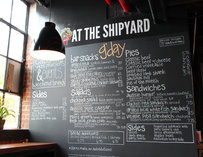 KO Pies at the Shipyard Menu--Boston
