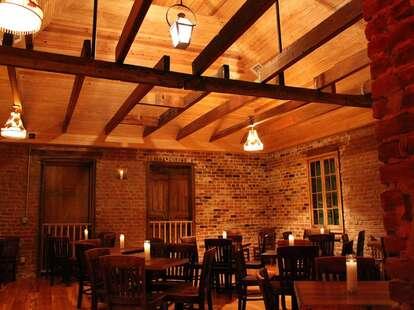 Interior of Bacchanal Wine