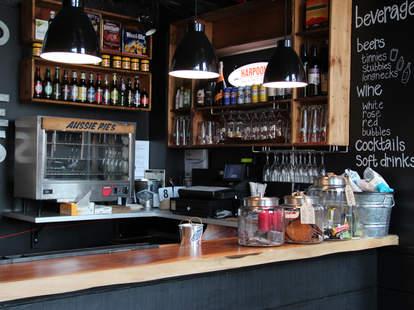KO Pies at the Shipyard Bar--Boston