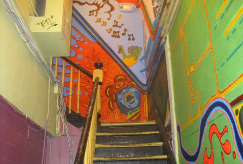 Stairway in the Blue Nile