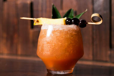 Three Dots and a Dash rum cocktail