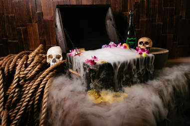 Treasure Chest at Three Dots and a Dash in River North