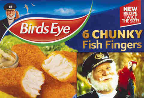 Captain Birdseye real life