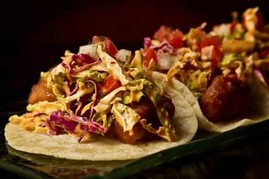 Tacos at Mercadito Miami