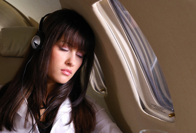 The easiest way <em>ever</em> to fall asleep on a plane