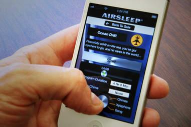Using Airsleep iPhone App