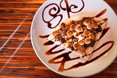 Slice & Pint - S'mores Pizza