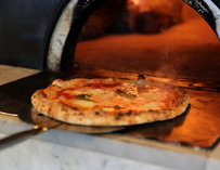 Pizza Oven at Farina Pizza