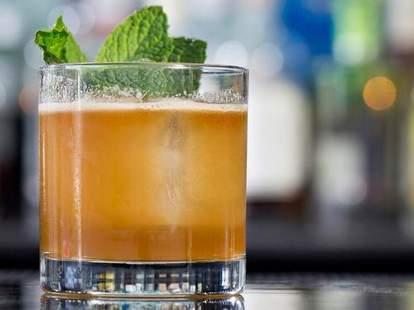 Cocktail at Top Flr in Atlanta