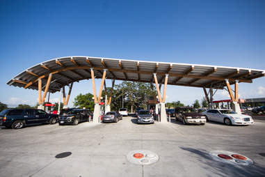 HEB gas station