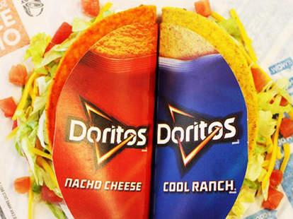 Taco Bell Doritos Locos