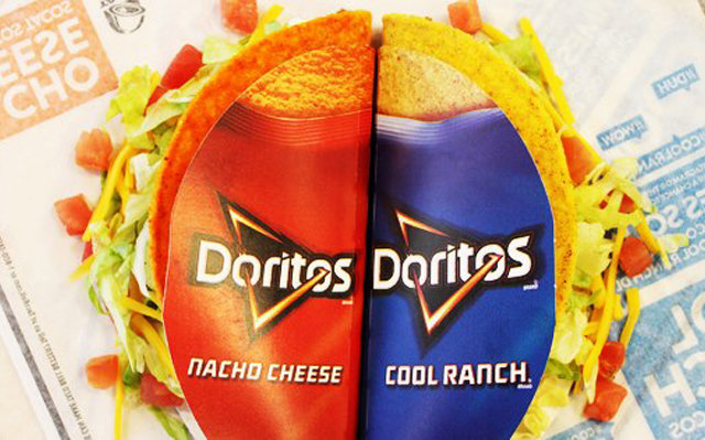 Taco Bell is dropping a third Doritos Locos flavor, world is pretty sure it\'s Flamas