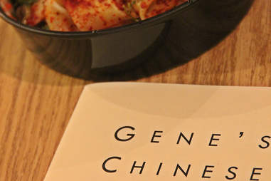Dish/menu from Gene's Chinese Flatbread Cafe