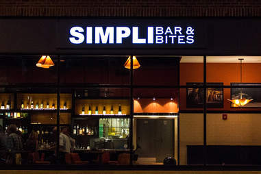 Exterior of Simpli Bar & Bites