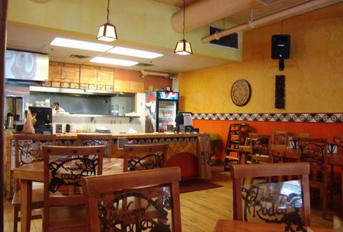 The interior of El Nuevo Rodeo