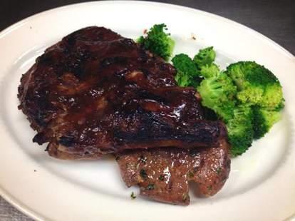 Steak at McCoy's Public House