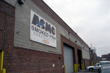 Acme Smoked Fish sign