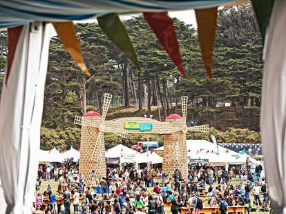 Outside Lands grounds