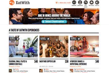 EatWith Splash Page