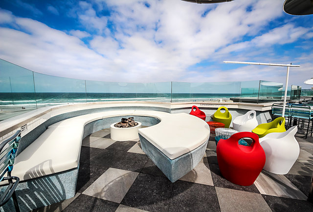 Cannonball San Diego S Biggest Oceanfront Rooftop Is