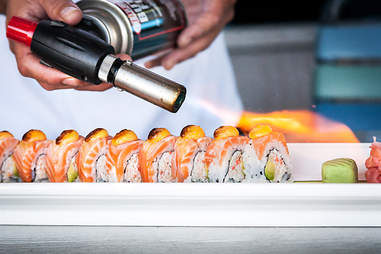 The Enfuego roll at Cannonball in Mission Beach San Diego.