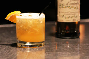 A citrus beertail